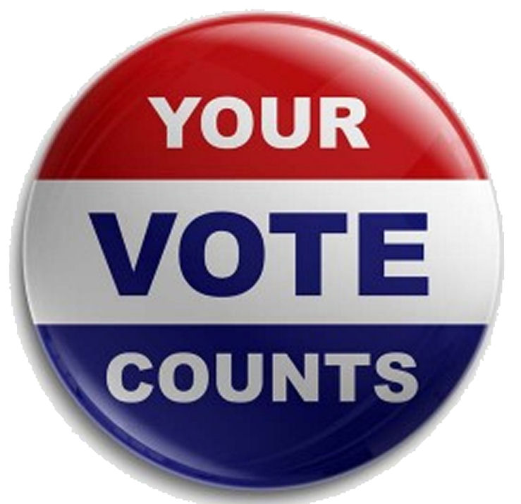 Your Vote Counts Badge